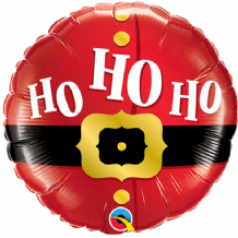 "Christmas Ho Ho Ho Foil Balloon (9"" Air-Fill) 1pc"